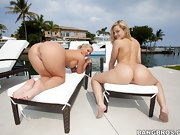 Obese buns, We brought in Alexis Texas and Phoenix Marie for some..