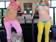 Nice butts,  London Keyes and Kagney Linn Karter have perfect bodies..