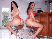 Juicy pretty butts, Imani Rose and Rose. I promise you'll love..