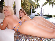 Karen Fisher and Nikki Stone, These 2 ladies have monster booties