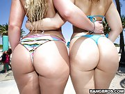 We brought nearby Alexis Texas and Phoenix Marie for some major big..