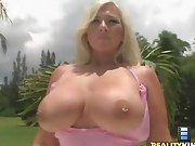 Gieselle had huge amazing tits and an enormous big ass that she..