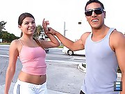 I've again wanted to essay a hot Cuban jogging partner who was cute,..