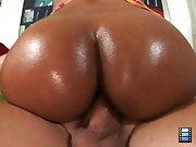 This super hot swarthy ass is all oiled up unexpectedly to glossy..