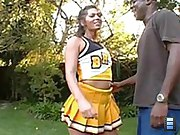 hot cheerleader has huge butt