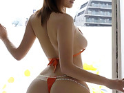 Sexy asian juicy butt and constricted bum babes