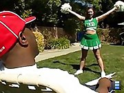 cheerleader with massive ass gets nailed