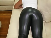 Biggest Black Ebon Booty in Yogapants !