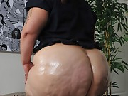 Massive culo harlots are fooling around, posing and teasing with..