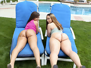 2 scrumptious chubby asses with a side of anal topped with our..