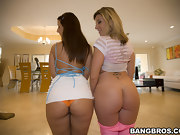 2 bubble big asses