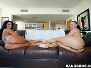 Super fine massive butt Ava Addams and Mega bulky booty Miss Raquel
