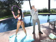 Monica Santhiago is a Latina babe with a massive, gorgeous massive..