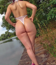 Marvelous girls with giant booties