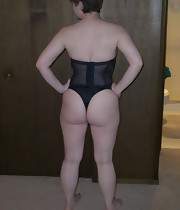 Large bum sluts are fooling around, posing and teasing with their giant round butts