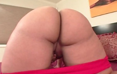 horny black doxy with a giant booty