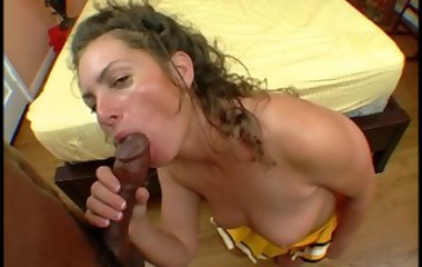 wet bubble butt slut cheerleader gets fucked