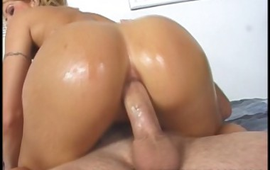 Sexy cutie acquires her biggest ass fucked