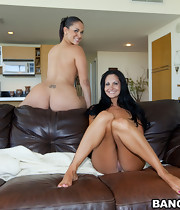 Super fine big a-hole Ava Addams and Mega tight arse Miss Raquel