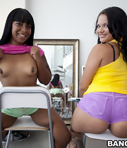 I promise you all are gonna enjoy watching Egypt & Violet Vasquez get their phat asses pounded out by some dick.