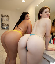 Cute fine a-hole pics, Two Ravishing Biggest Asses! Angel Cakes, Angelina Castro