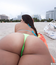 Hot hottest ass wazoo pics, this Cuban sweetheart and I think this might be the massive roundest sexiest ass