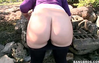 Nikki Stone -  White Girls With A Giant Arse