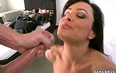 Lisa Ann -   has the consummate tits, small waist, and in enormous onion ass
